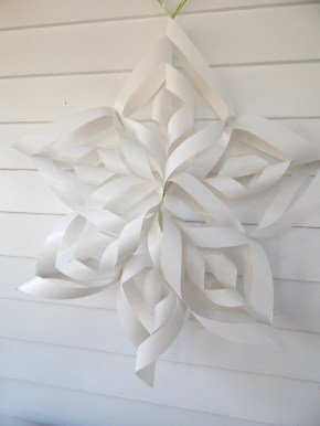A Fun Family Craft: 3D Snowflakes
