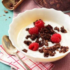 Farewell Winter – Cranberry Chocolate Granola
