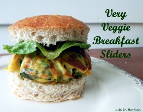 Very Veggie Breakfast Sliders