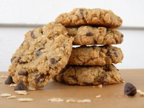 Double Oatmeal Chocolate Chip Cookies