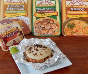 Pollo Pupusa Packets: Del Real Blogger Recipe Challenge