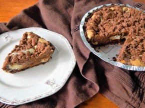 Gluten Free Chocolate Crumb Cheesecake Pie