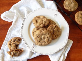 My Denial and Aaron's Soft Baked Chocolate Chip Cookies (Gluten Free & Egg Free)