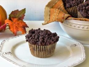 Gluten Free Chocolate & Pumpkin CrumbMuffins