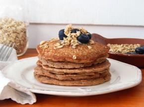 Gluten Free Oat, Quinoa, and Almond FlourPancakes
