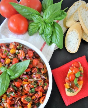Bruschetta – My Favorite Summer Dish