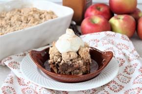 Gluten Free Apple Spice CrumbCake