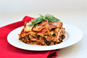 Gluten Free Beef & Vegetable Slow Cooker Lasagna